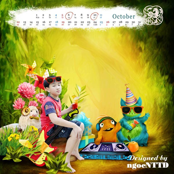 NTTD_Calendar2014_10