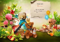 NTTD_Kandi_Happy Birthday Little Monster_BC6_Bear