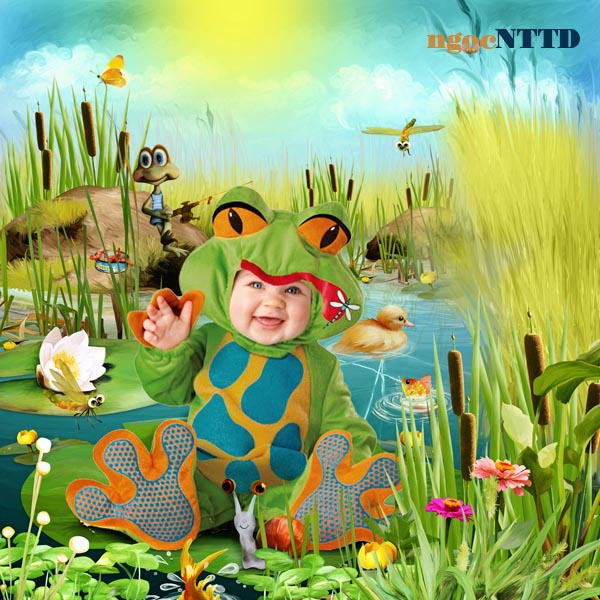 NTTD_Kandi_Summer fishing_tea party at the pond_sample