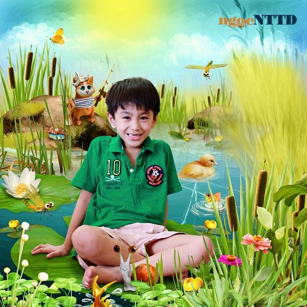 NTTD_Kandi_Summer fishing_tea party at the pond_web